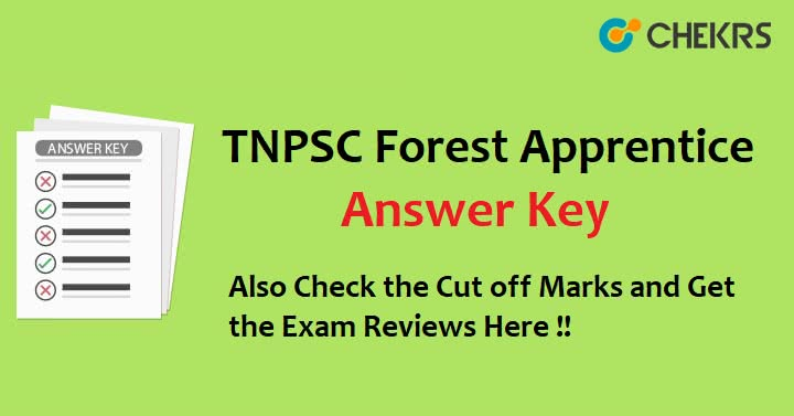 TN PSC Forest Apprentice Answer Key