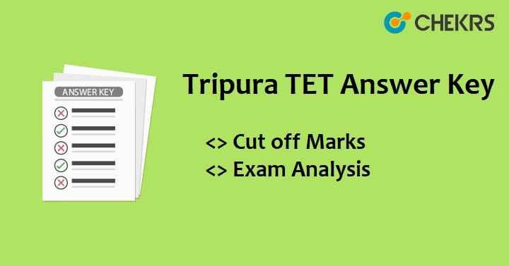 Tripura TET Answer Key 2021