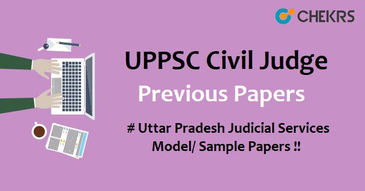 UPPSC Civil Judge Previous Papers