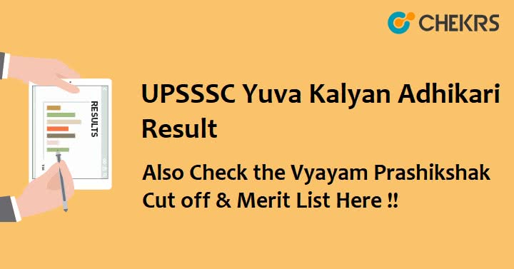 UPSSSC Youth Welfare Officer Result