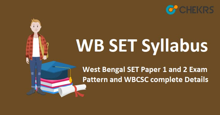 WB SET Syllabus 2019