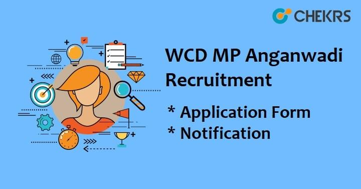 WCD Recruitment 2021