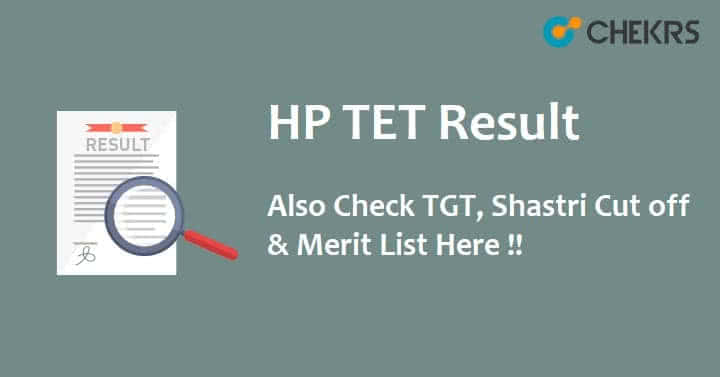 HP TET Result 2021
