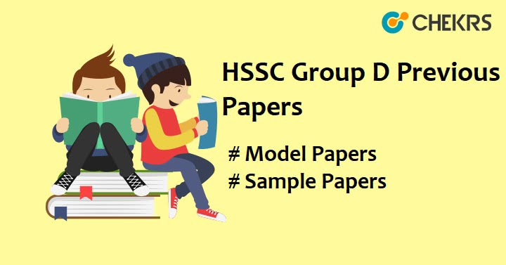 HSSC Group D Previous Question Papers
