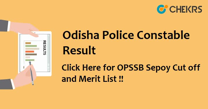 Odisha Police Constable Result 2021