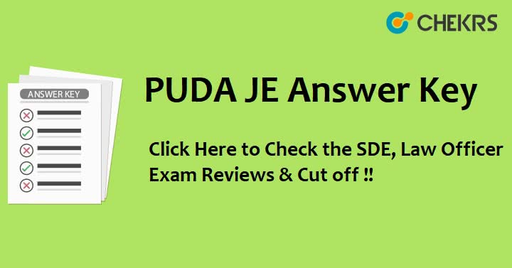 PUDA SDE Exam Answer Key