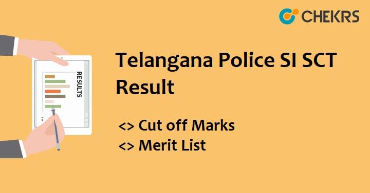 TS Police Sub inspector Exam Result