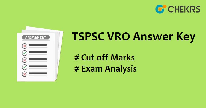 TSPSC Village Revenue Officer Answer Key