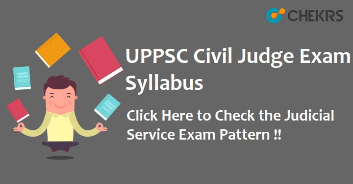 UPPSC Civil Judge Syllabus 2020