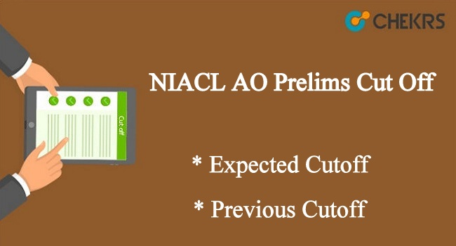NIACL AO Prelims Cut Off 2020
