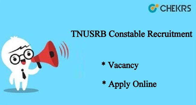 TNUSRB Constable Recruitment 2021