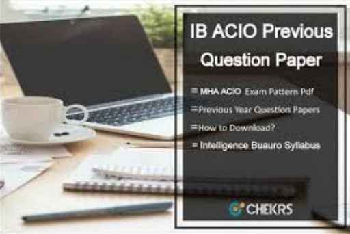 IB ACIO Previous Question Paper
