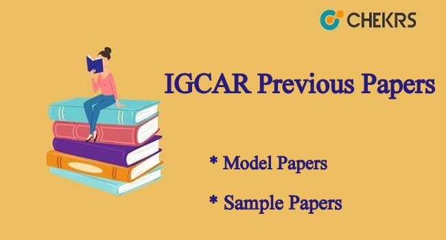 IGCAR Previous Papers