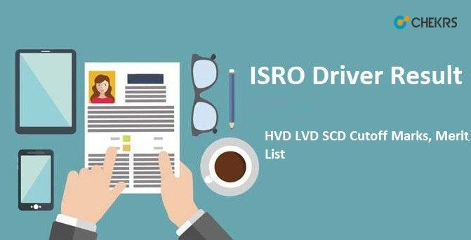 ISRO Driver Result 2020