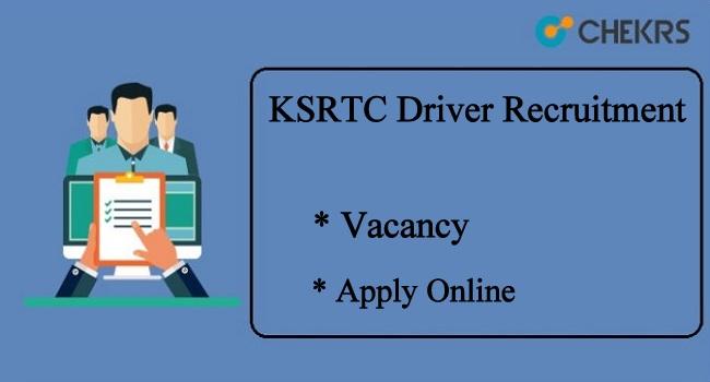 KSRTC Driver Recruitment