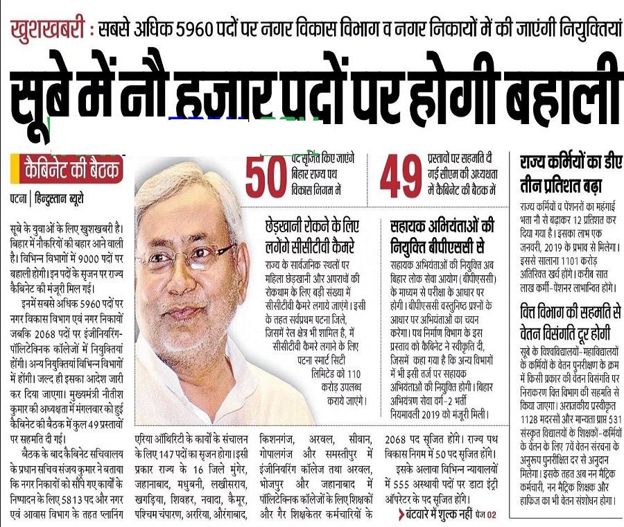 Bihar Polytechnic Teacher Notification