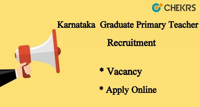 Karnataka Graduate Primary Teacher Recruitment