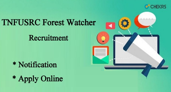 TNFUSRC Forest Watcher Recruitment