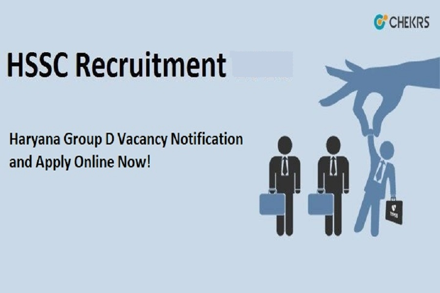 HSSC Group D Recruitment 2021