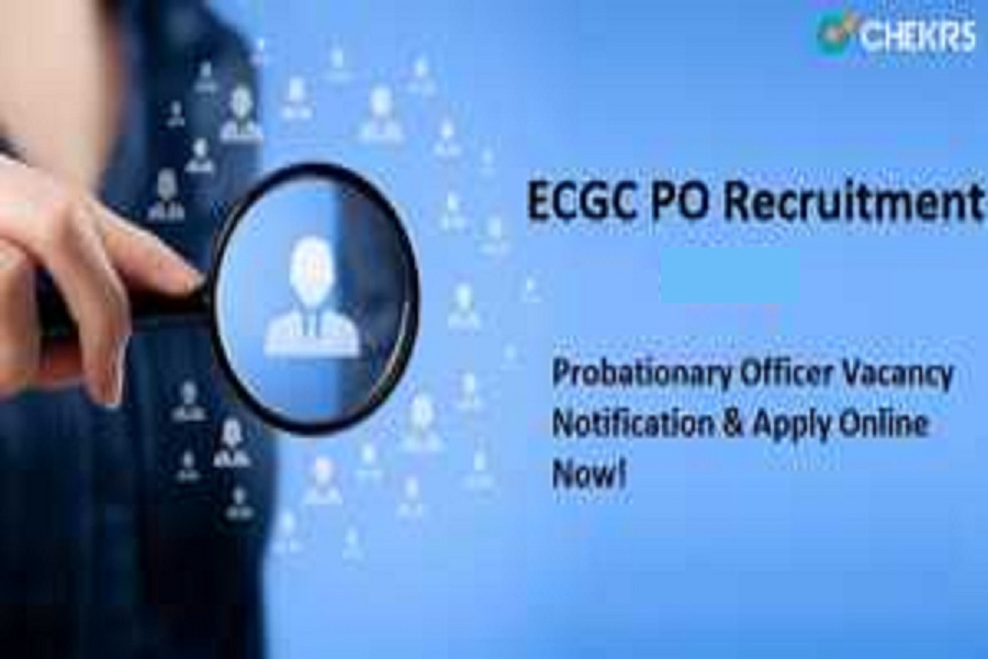 ecgc po recruitment 2021
